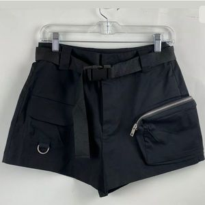 I.AM.GIA black cargo shorts size S
